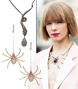 Creepy, Crawly Jewelry To Wear After Halloween