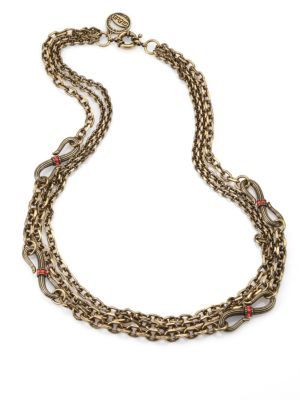 Giles & Brother Giles & Brother Multi-Chain Serpent Necklace
