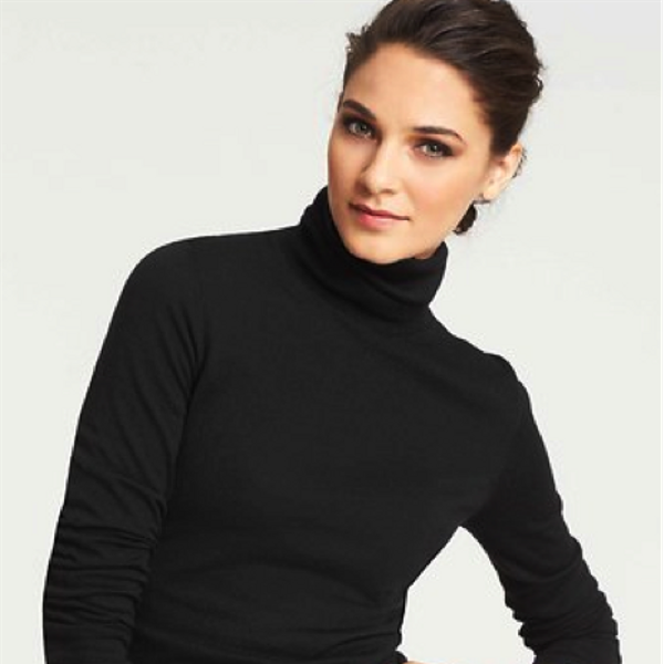 Ann Taylor Wool Blend Turtleneck