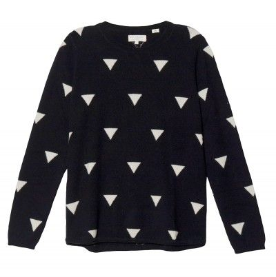 Chinti and Parker  Cashmere Triangle Sweater