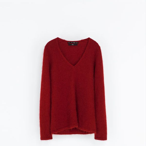 Zara  Angora Sweater