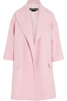 Rochas  Oversized Wool-Blend Coat