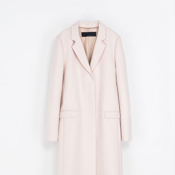 Zara  Masculine Studio Overcoat