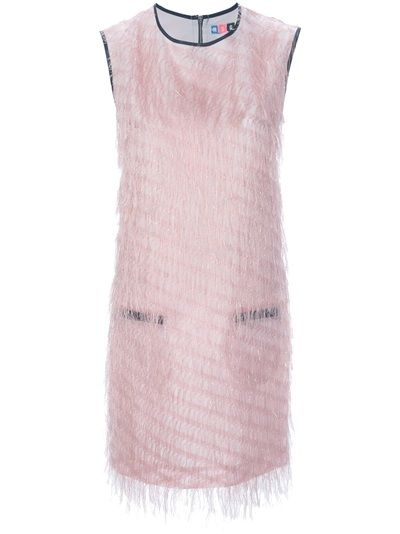 MSGM  Fringe Shift Dress