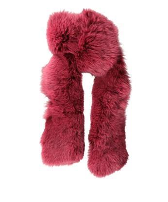 Seventeens  Fox Fur Stole