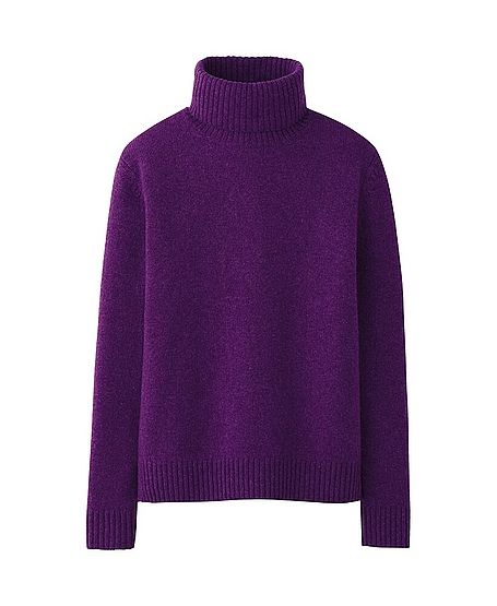 Uniqlo  Women Alpaca Blend Turtleneck Sweater
