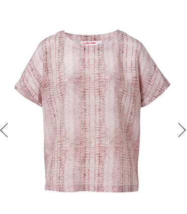 See by Chloe  Silk Print Top