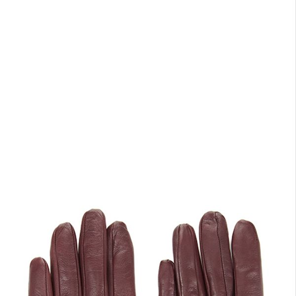 Whistles  Leopard Leather Glove