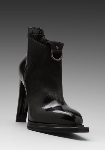 McQ Alexander McQueen  Slash Elastic Boots