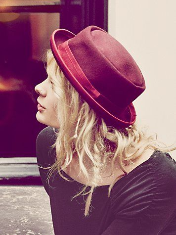 Free People  Patton Porkpie Hat