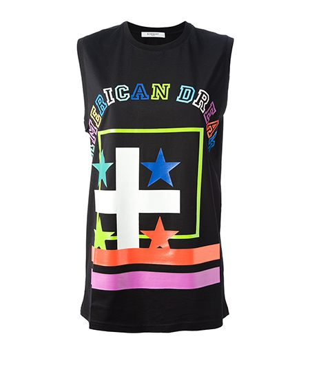 Givenchy American Dream Printed Vest