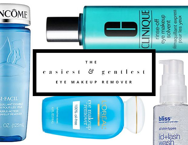 7 Easy to Use Makeup Removers