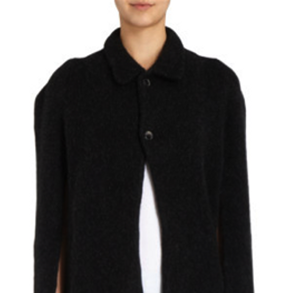 The Elder Statesman Cashmere Cape