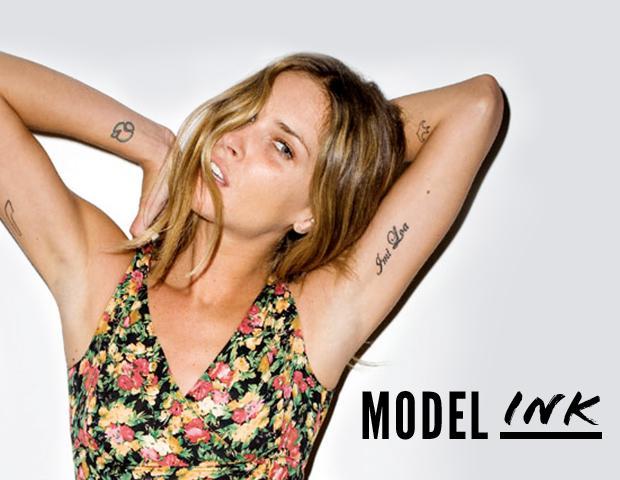 Models & Their Tattoos