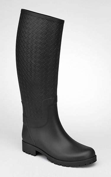 Bottega Veneta  Nero Rainboot