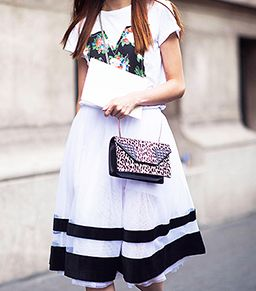 Everybody's Doin' It: Fancy Skirts and T-Shirts