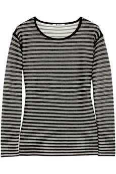 T by Alexander Wang  T by Alexander Wang Striped Jersey Top
