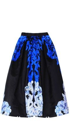 Tibi  Tibi Rococo Full Skirt