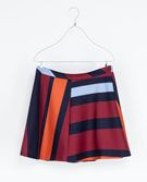 Zara  Zara Striped Mini Skirt