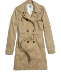 Madewell  Belted Trench
