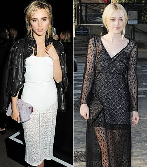 The Daring Skirt Trend That's Perfect For Party Season