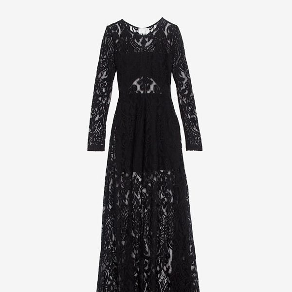 Alexis  Sheer Lace Maxi Dress