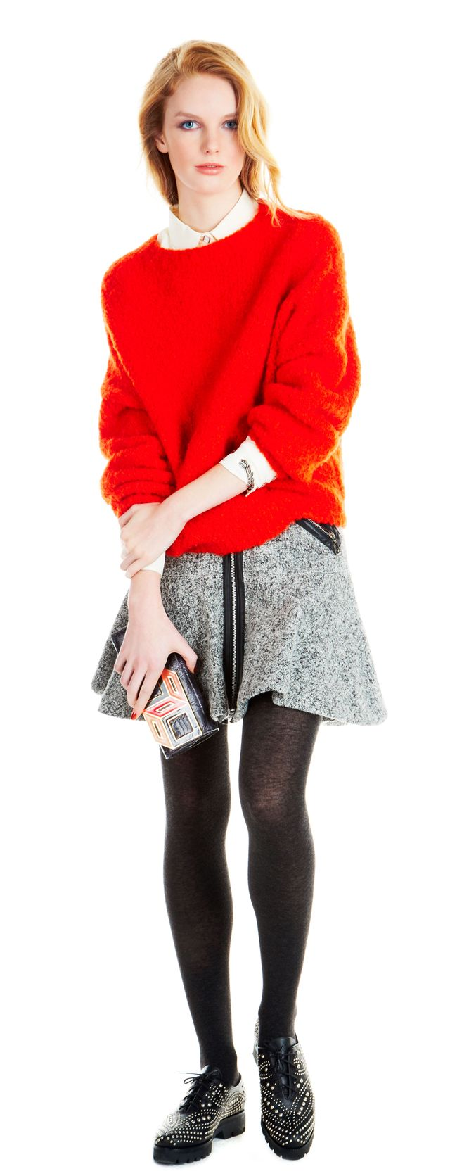 Soft Focus: Warm Up To The Season's Bright Sweaters
