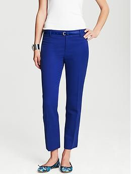 Banana Republic  Banana Republic Camden-Fit Cobalt Skinny Ankle Pant