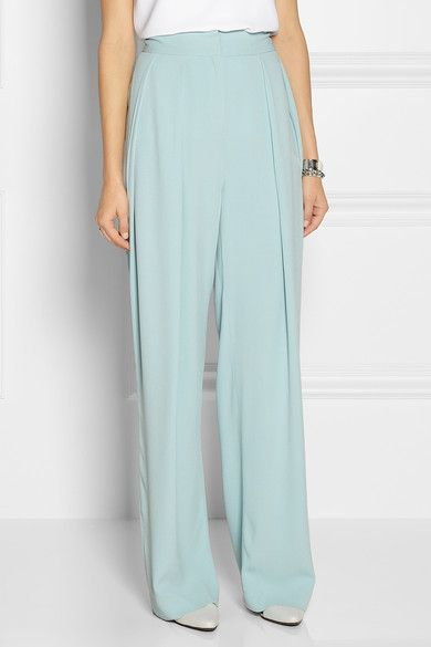 By Malene Birger By Malene Birger Firoza Stretch-Crepe Wide-Leg Pants