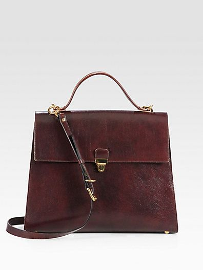 Marni  Gusseted Top Handle Satchel