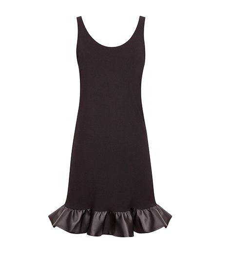 Sandro  Sandro Risette Coated Ruffle Dress