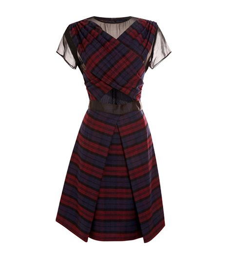 Timo Weiland Timo Weiland Annabelle Cross Front Dress