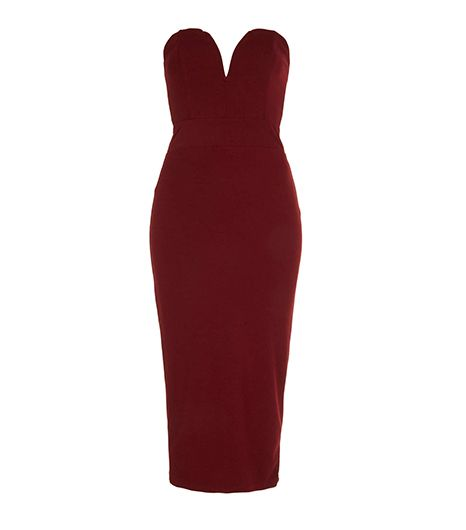 Topshop  Topshop Halo Midi Bodycon Dress