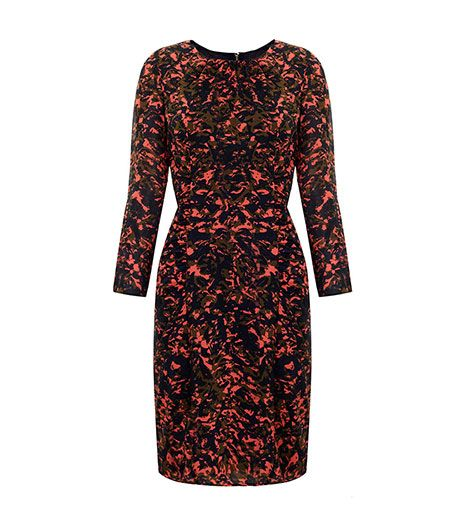 Whistles Whistles Izzey Foliage Print Dress