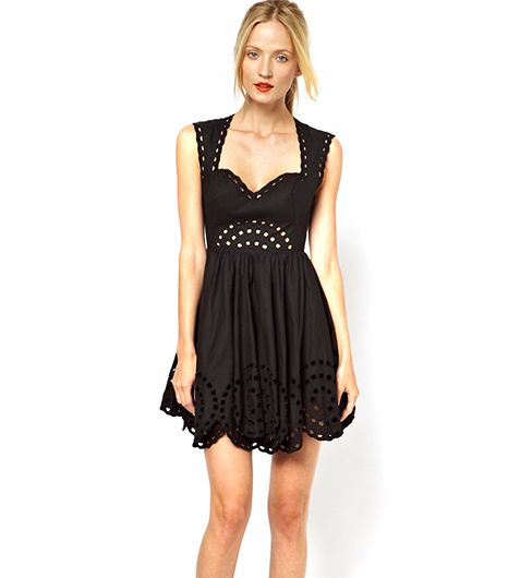 Alice McCall  Alice McCall Tigers Eye Dress With Cut Out Detail ($525) in Black