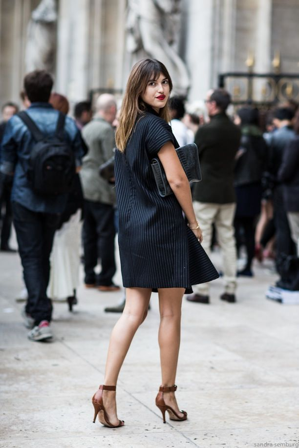 Simple Pinstripes, Two Ways: See The Street Style Inspiration