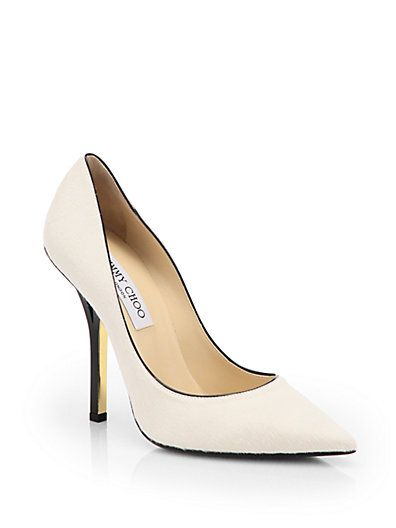 Jimmy Choo  Pony Hair Pumps
