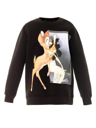 Givenchy  Bambi-Print Sweatshirt