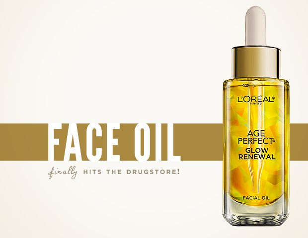 Face Oil Arrives at the Drugstore
