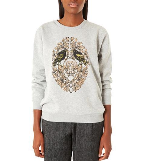 Topshop  Bird Crest Sweatshirt