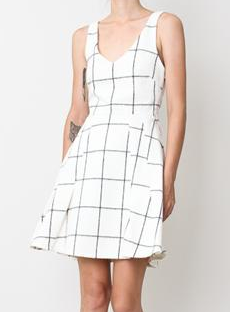 Creatures of Comfort  Window Pane Mara Dress