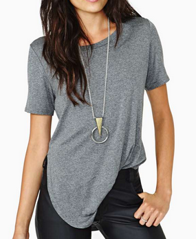 Nasty Gal Park Slope Tee
