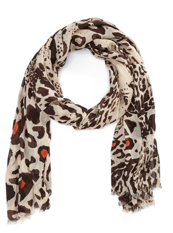 Lulla Collection by Bindya Dancing Leopard Scarf