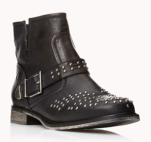 Forever 21 High-Voltage Studded Booties