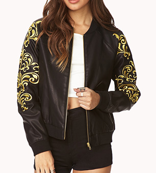Forever 21 Standout Baroque Jacket