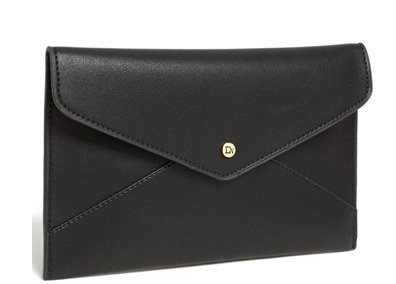 Danielle Nicole 'Tina' Faux Leather Envelope Clutch