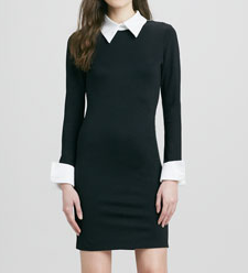 Alice+ Olivia Courtnee Collar Dress