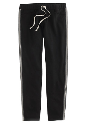 J.Crew Wool Racing-Stripe Track Pant