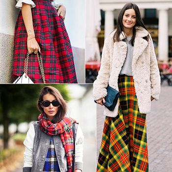 Outfit Envy: The Best Ways To Wear Plaid Now