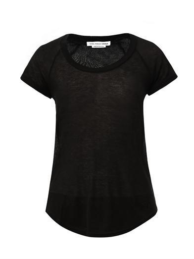 Etoile Isabel Marant  Almon Cashmere-Blend T-Shirt
